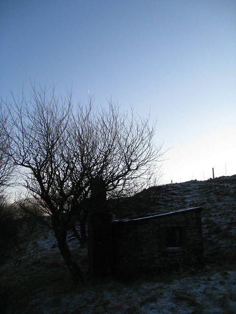 Railwayman's hut adjacent to the Settle-Carlisle line