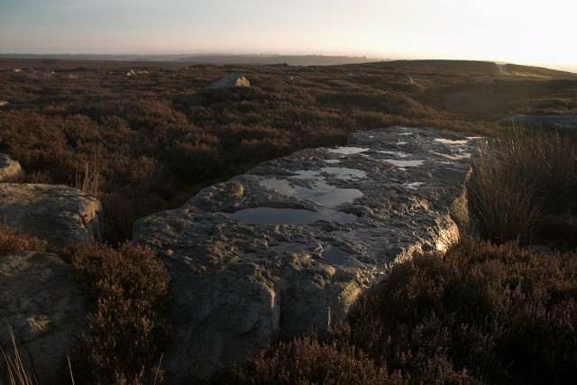 Large rock on Spaunton Moor