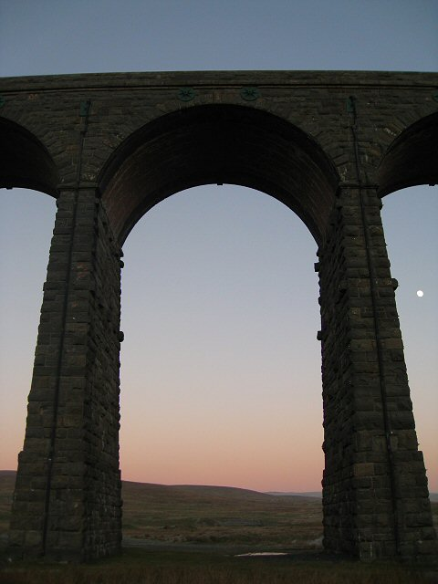 Detail of Ribblehead viaduct