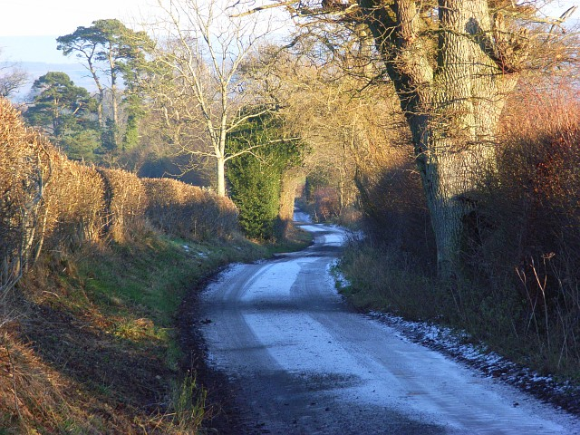 Road above Black Sykes