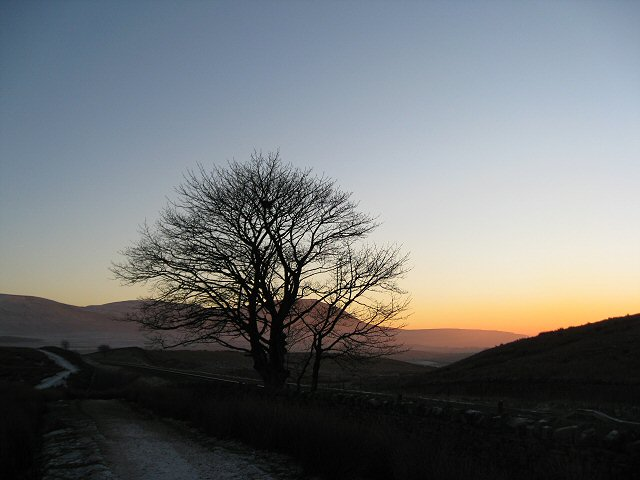 Path down from Whernside to Ribble Head