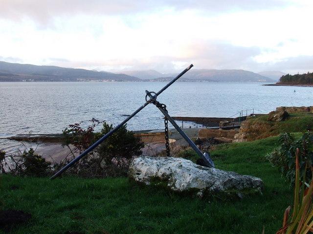 Ornamental anchor