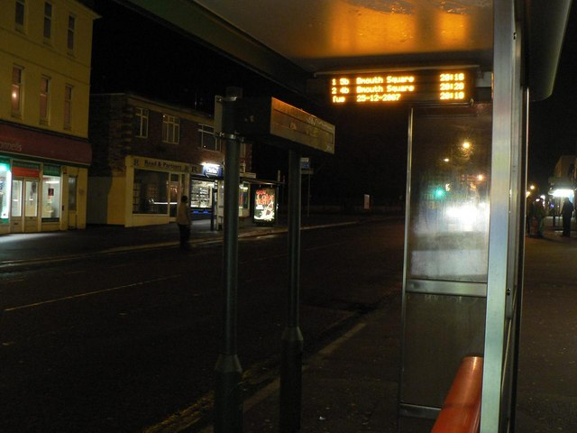 False expectation of a bus