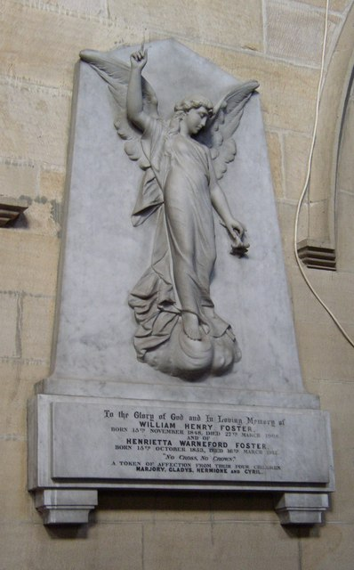 Monument in St Margaret's Church, Hornby