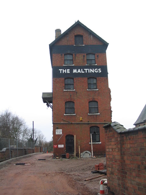 The Maltings tower, Sileby