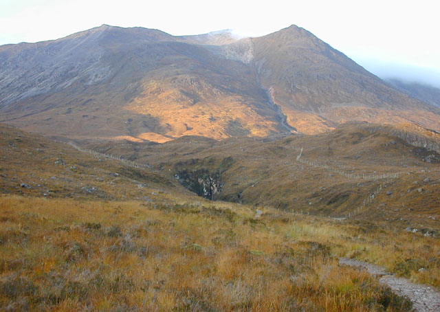The bottom of Coire Dubh