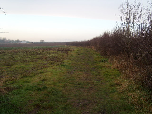 The path to Edingley