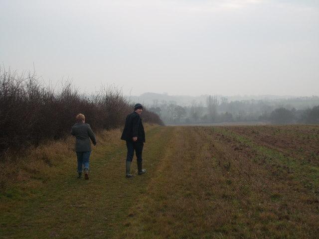 Edingley to Halam footpath