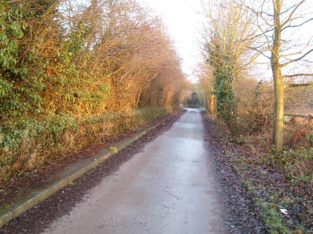Southwell trail near Kirklington