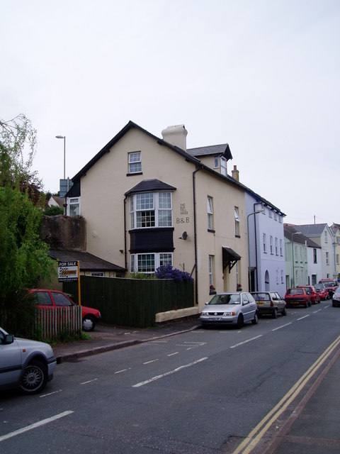 Shaldon - Toll House from Ringmore Road