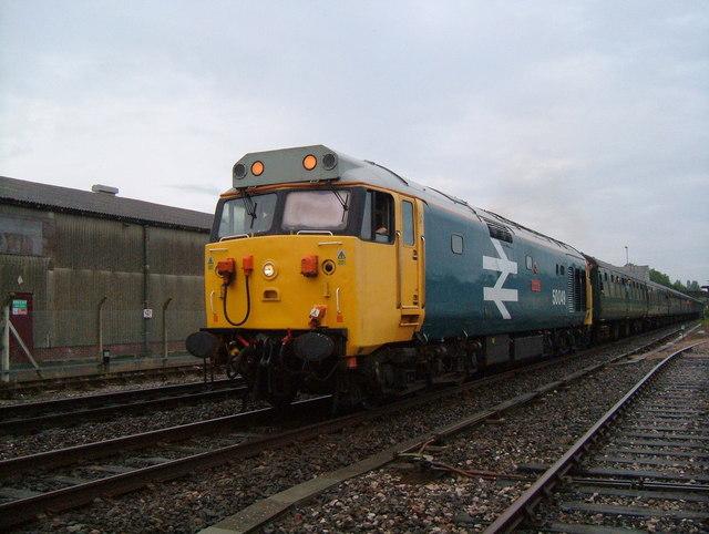 Class 50 held at Gillingham.