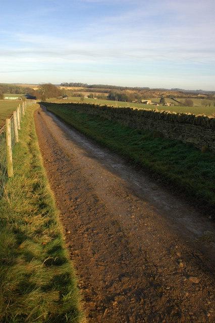Track to Stumps Cross