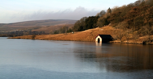 Boathouse on Malham Tarn
