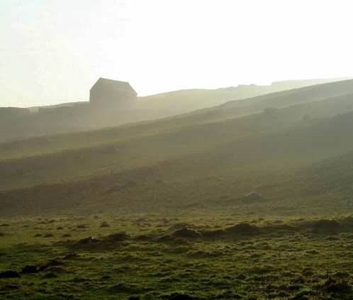 Barn on the Pennine Way