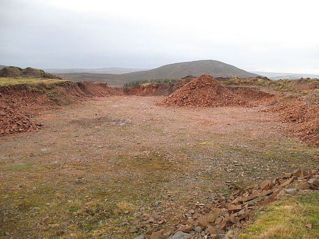 Quarry on Hen Law