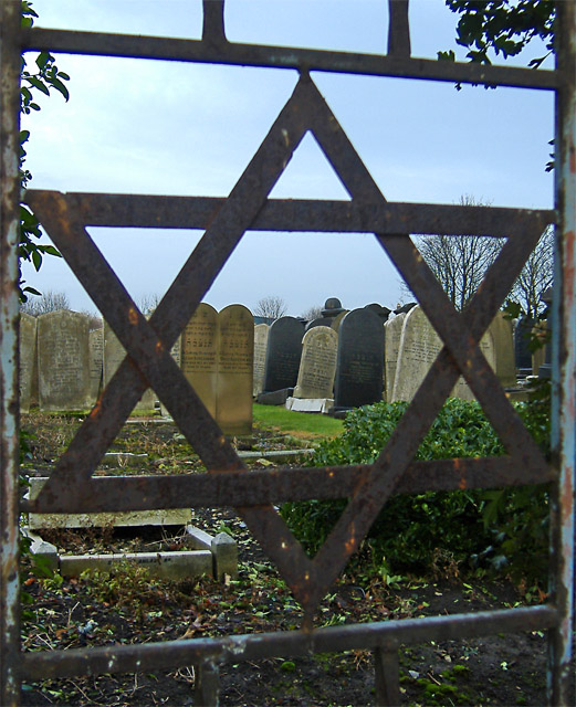Jewish Cemetery (gate detail), Delhi St, Hull