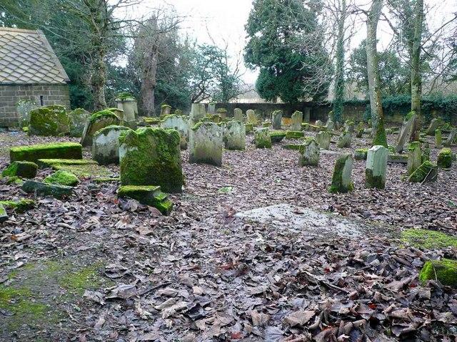 Derelict cemetery