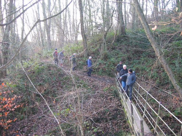 Footbridge over Mill Burn