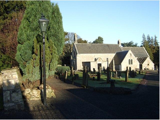 Abercorn parish church and churchyard