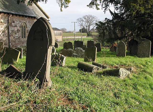 Churchyard of St. Andrew's, Dinedor