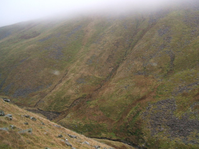 Swindale Beck and north side of Roman Fell