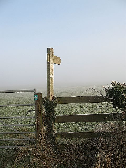 A Weymore waymark