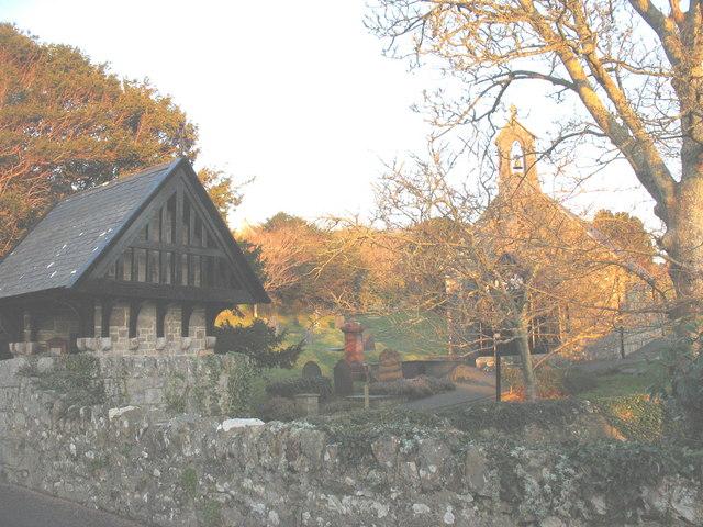 Eglwys Sant Cian. Saint Cian's Church, Llangian