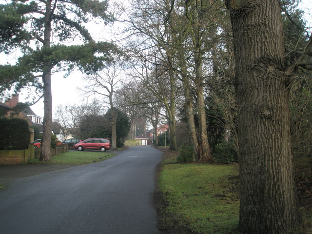 Northern end of Wade Court Road