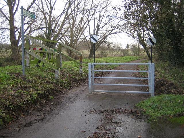 Thundridge: Old Church Lane