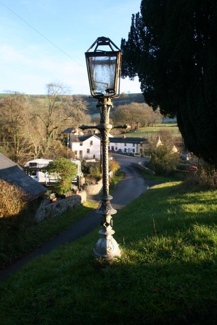 Churchyard, Pontfaen