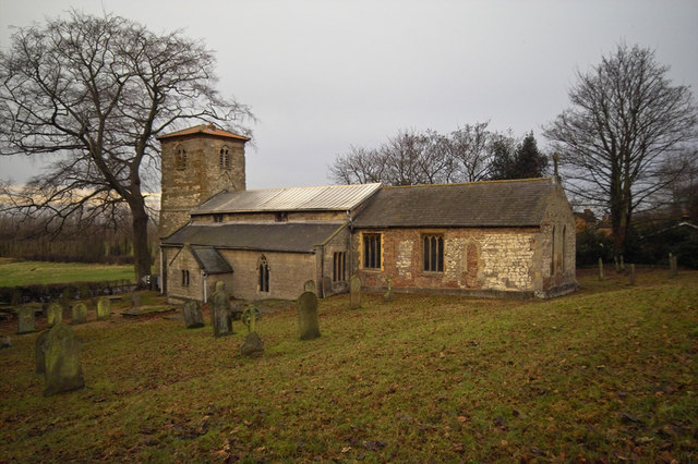 Horkstow Church in December