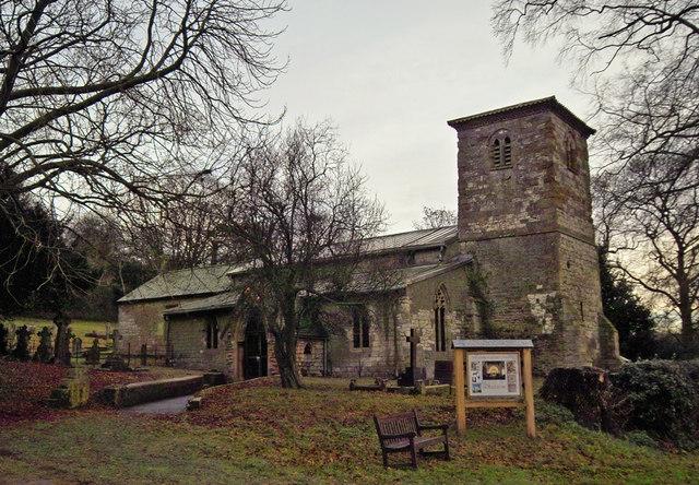 Horkstow Church in December