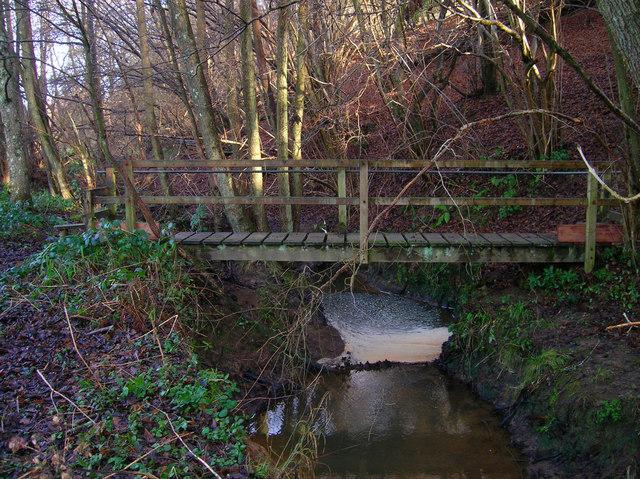Footbridge, Ash Bourne