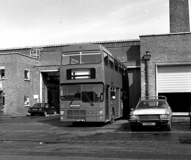 South Croydon garage
