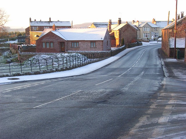 The A686, Langwathby