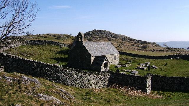 Llangelynin Old church