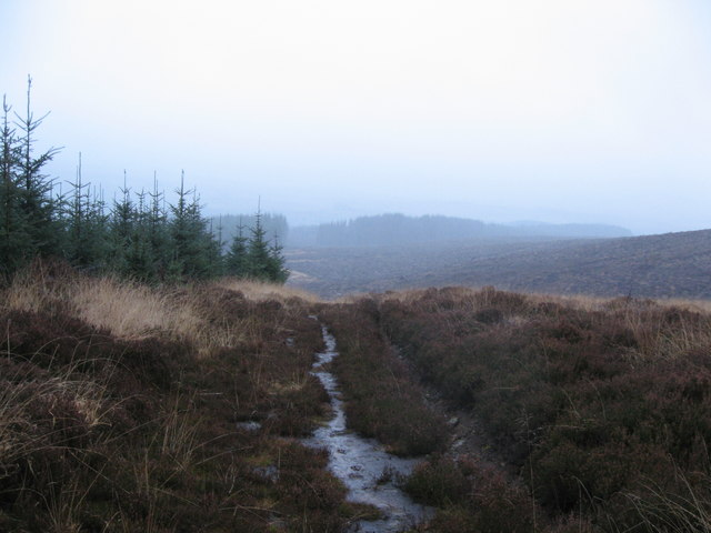 Path between Slaty Ford and Sidwood