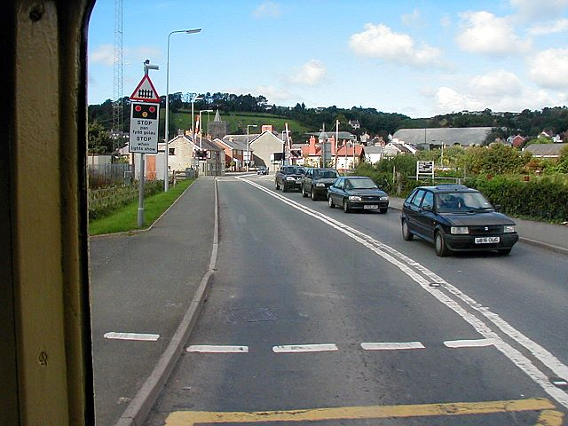 Vale of Rheidol level crossing