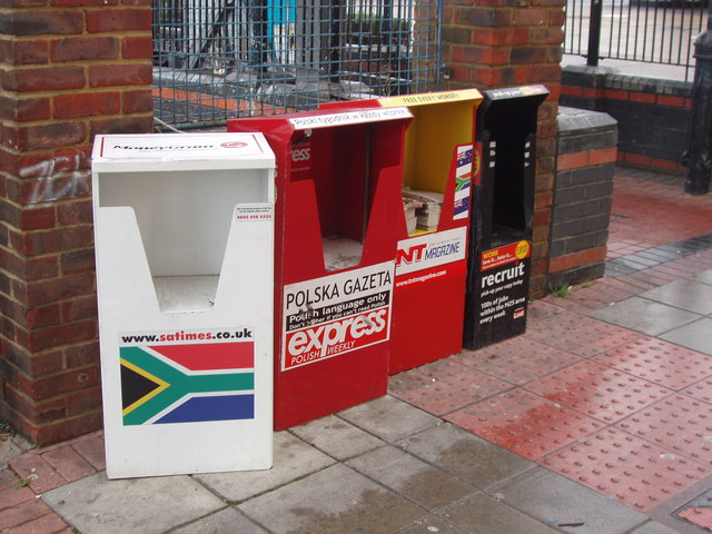 London papers for South Africa, Poland, Australia, New Zealand