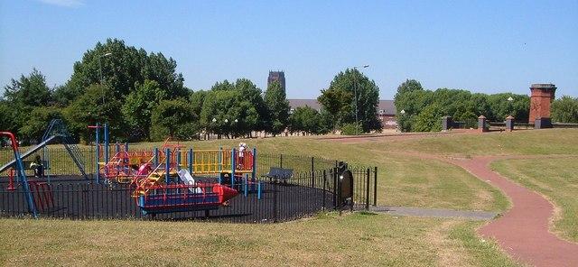 Playground, Overbury Street, Liverpool