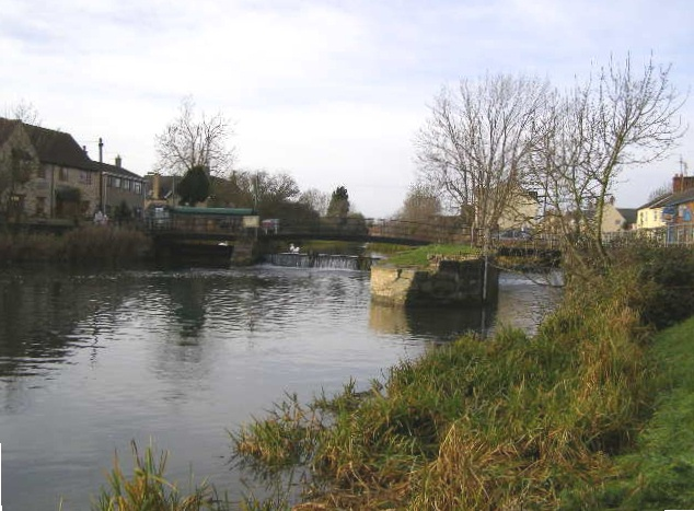 High Locks on River Welland, Deeping Gate