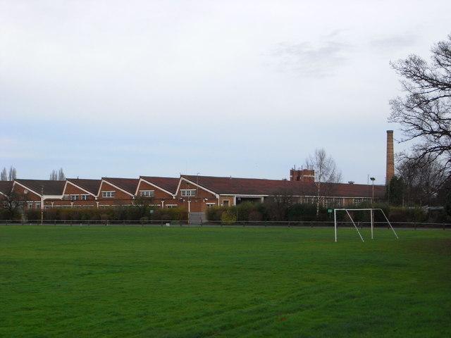 The former Cinderella shoe factory, Worcester