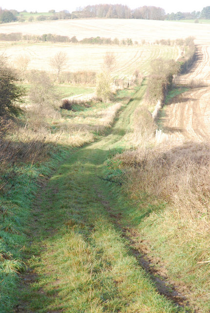 Jubilee Trail heading towards Pentridge