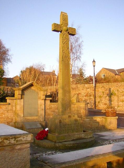 War Memorial, Halton