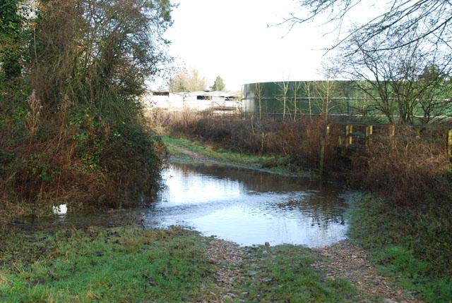 Ford entering Cranborne Farm