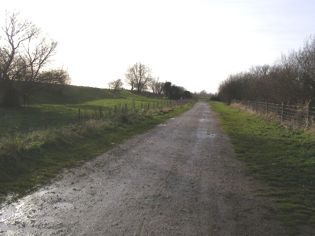 Access Road to Deeping Lakes Nature Reserve