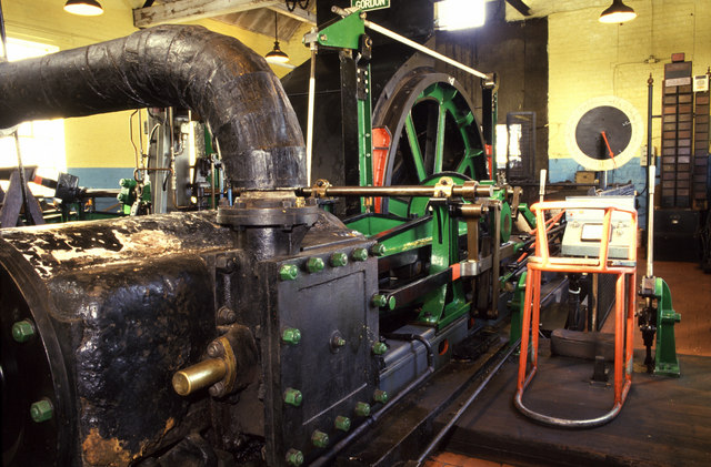 Steam winding engine Cadley Hill Colliery