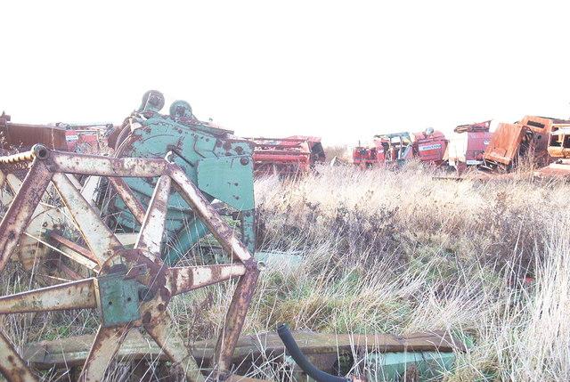 Disused Farm Machinery, New Rides Farm, Eastchurch