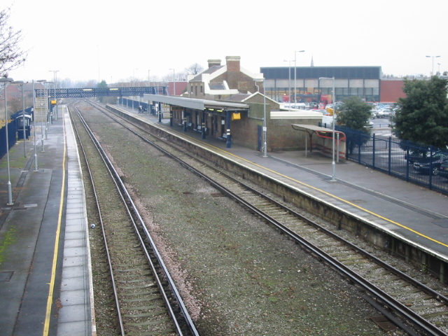 Deal railway station