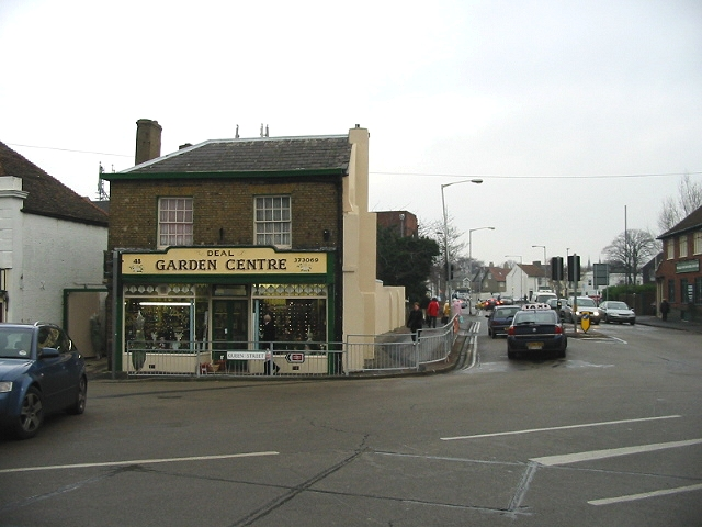 Junction of Queen Street and West Street